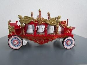 char de parade des cloches - Maquettes de véhicules de cirque