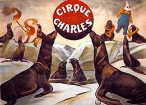 Affiche Cirque Charles - 1901 au Cirque