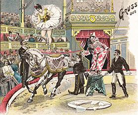 Année 1901 au Cirque