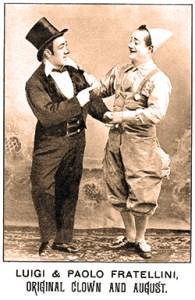 Paolo et Luigi Fratellini - Année 1900