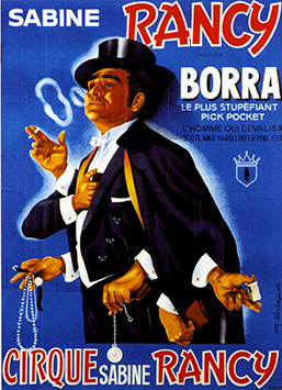Borra, pickpocket de talent au Cirque