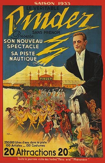 Cirque Pinder – direction Charles Spiessert
