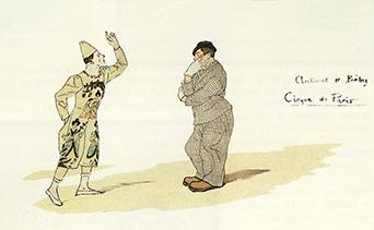 Antonet et Beby au Cirque de Paris par les demoiselles Vesque
