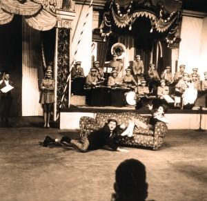 Zavatta avec Mona Sylvie - Star du Cirque