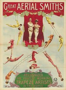 Trapézistes : Aerial Smith - Lexique du Cirque