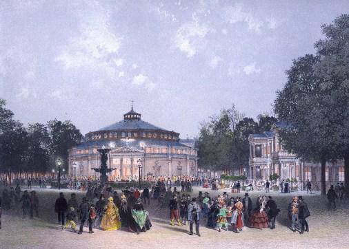 Cirque des Champs Elysées en 1843