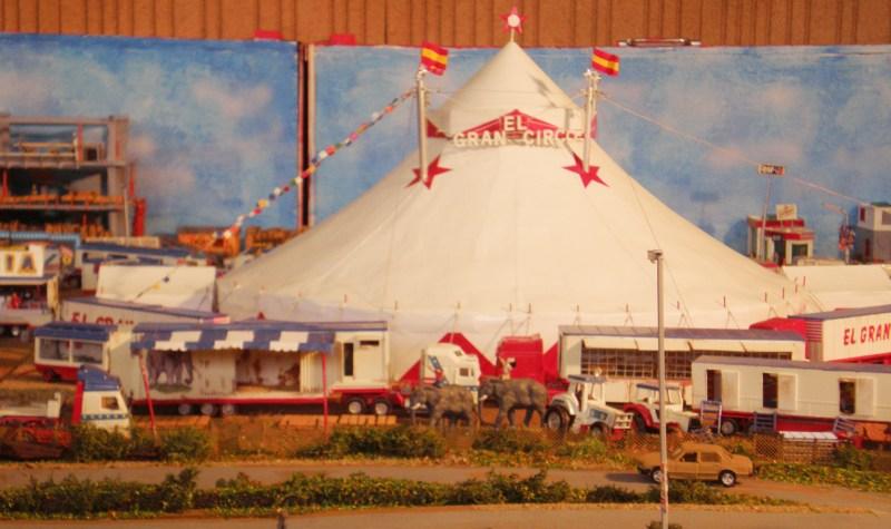 El Gran Circo - maquettes de cirque