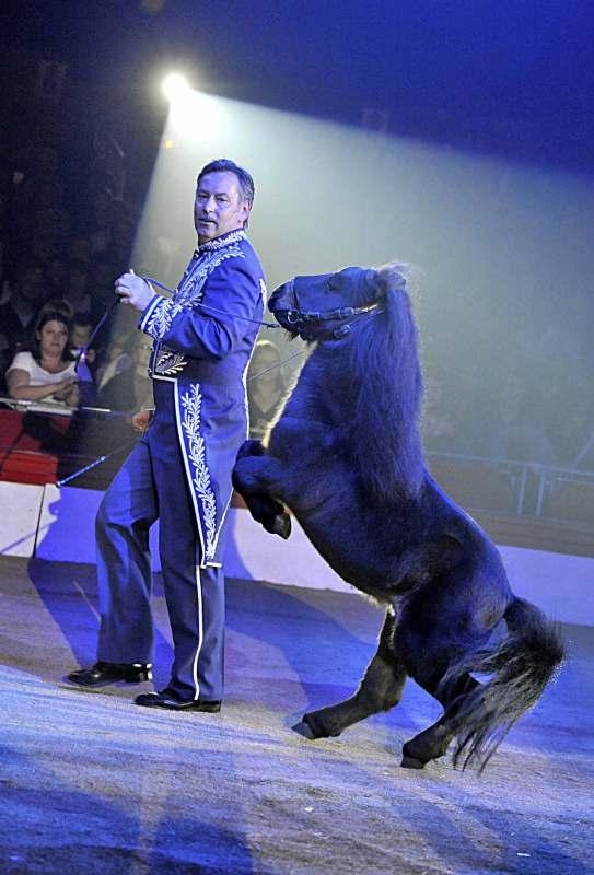 Gaby Donnert en 2010 par Yvon Kervinio - photographe et éditeur de Cirque