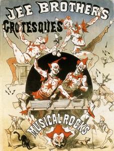 Grotesques - Lexique du Cirque