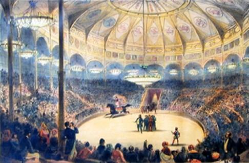 Le Cirque de l'Impératrice - Cirque des Champs Elysées