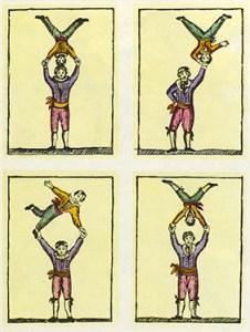 Main à main russes au 18e siècle -- Lexique du Cirque