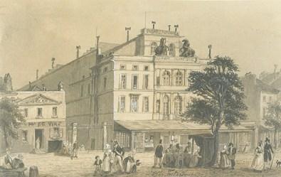 Cirque Olympique en 1837 - cirques parisiens