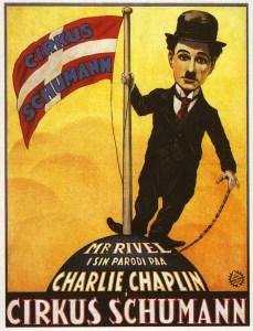 Affiche de Charlot au trapèze - Charlie Rivel