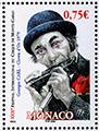 Le timbre poste de George Carl à Monaco