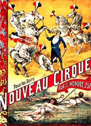 Nouveau Cirque à Paris en 1886 - Nouveau Cirque de Paris