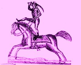 Charles Hugues - Voltigeurs à cheval