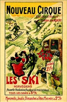 Les skis norvégiens - Nouveau Cirque de Paris