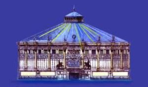 Maquette - Cirque d'Hiver Franconi