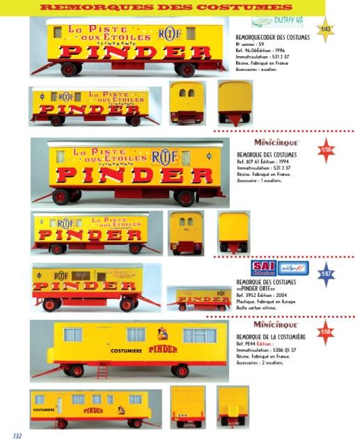 remorques des costumes - miniatures de Pinder
