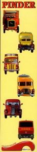 camions - miniatures de Pinder