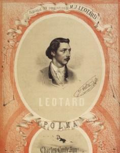 La polka  Jules Léotard