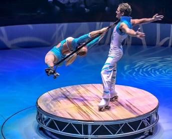Skating act : Les Pilar - Circus Dictionary