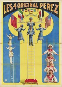 Free ladder : Perez - Circus Dictionnary