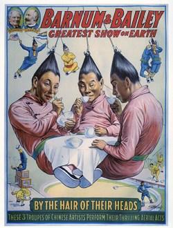 Hair-hang - Circus Dictionary