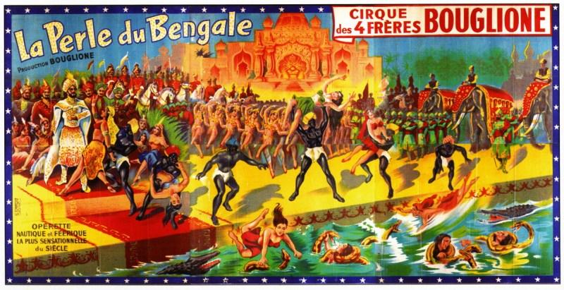 La perle du Bengale - frères Bouglione