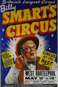 Manager :Billy Smart - Circus Dictionary