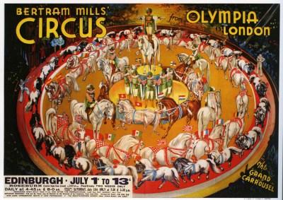 Carrousel Bertram Mills - Circus Dictionary