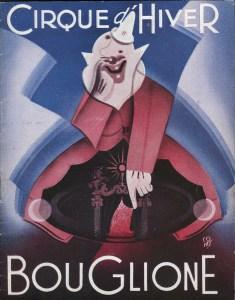 Programme du Cirque d'Hiver Bouglione