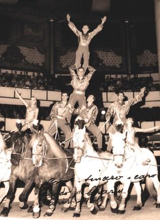 Les Caroli au Cirque d'Hiver - frères Bouglione