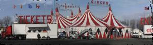 Chapiteau Miranda Orfei -Cirques européens