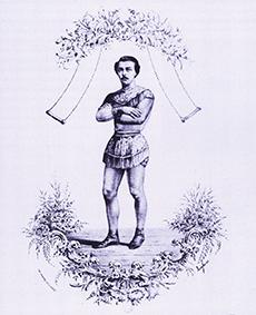 Jules Léotard, l'inventeur du trapèze volant