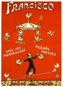 Pigeon act - Circus Dictionary