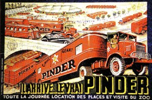 Affiche Pinder - Circus Dictionary