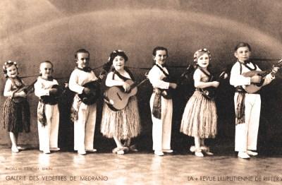 La troupe d'artistes lilliputiens de Ritter à Medrano