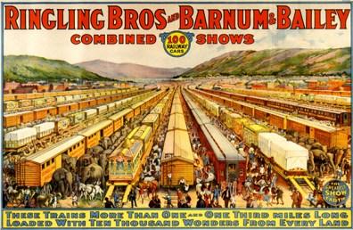 Railway circus - Circus Dictionary