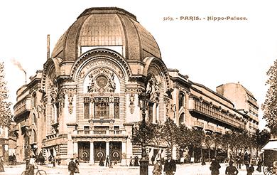 Hippodrome de la place Clichy - Patineurs à roulettes