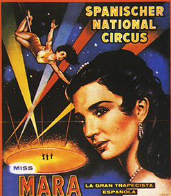 Mara, la belle Hélène du trapèze