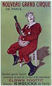 Affiche Nouveau Cirque - Foottit et Chocolat