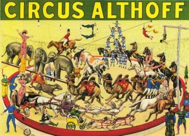 La piste du Cirque Althoff - Définition Cirque