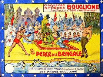 La perle du Bengale - Définition Cirque