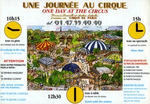 Une journée au cirque - Définition Cirque