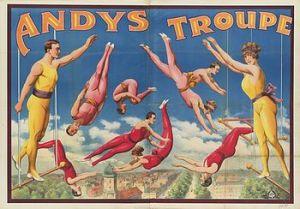 Trapèze volant par les Andys - tRAPÈZE