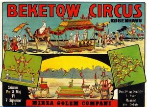 Beketow au Cirque de Copenhague