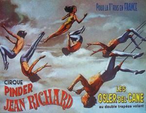 Les Osler - trapèze volant