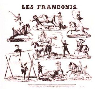 Jeux du Cirque des Franconi - Antonio Franconi