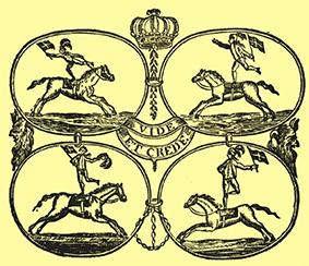 Premières compagnies équestres à Vienne